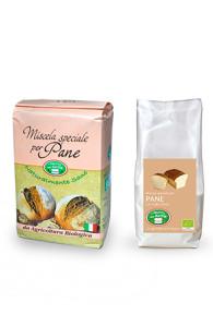 mix pane con lievito madre e malto d'orzo bio