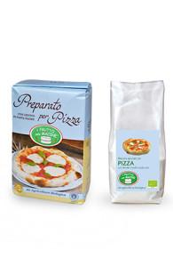 mix pizza con lievito madre bio